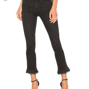 Rag & Bone Hana High Waisted flare crop jeans 31